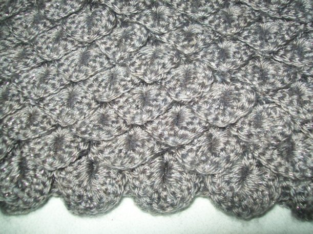 Crochet Stitches Crocodile : Crocodile stitch