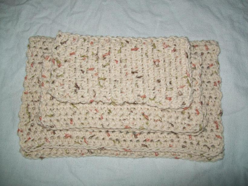 Crocheting Dish Rags : Crochet Dish Rags: A beginners project Crochet Cricket
