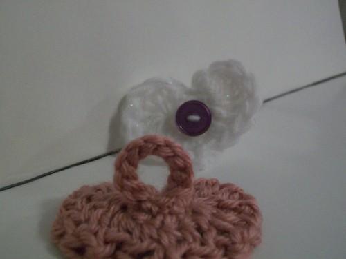 crochet heart ring valentines day gift