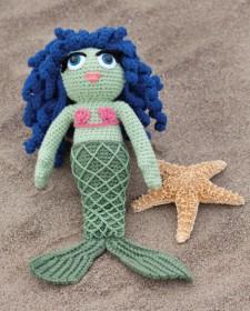 crochet mermaid