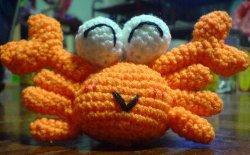 Crochet Amigurumi Crab : 301 Moved Permanently