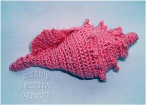large-crochet-shell