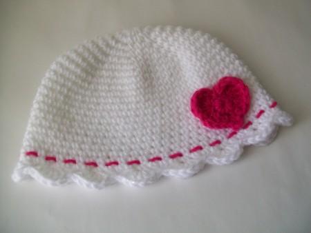 Crochet Pattern Central Edgings : CROCHET FLOWER EDGING FOR HAT ? Only New Crochet Patterns