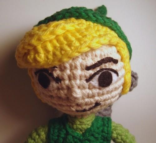 Free Crochet Pattern For Zelda : dc double crochet sl st slip stitch sc single crochet Car ...