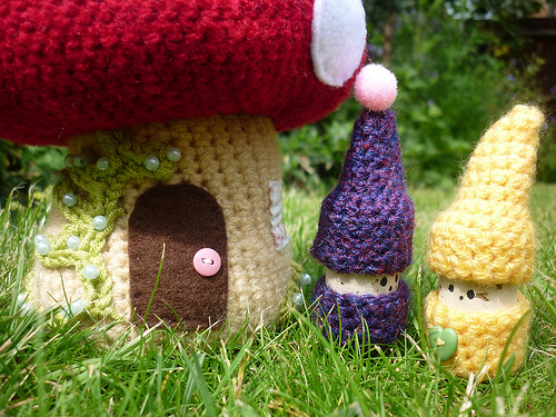 Free Amigurumi Gnome Pattern : cork Crochet Cricket