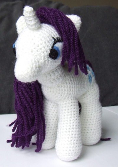 crochet-my-little-pony-white