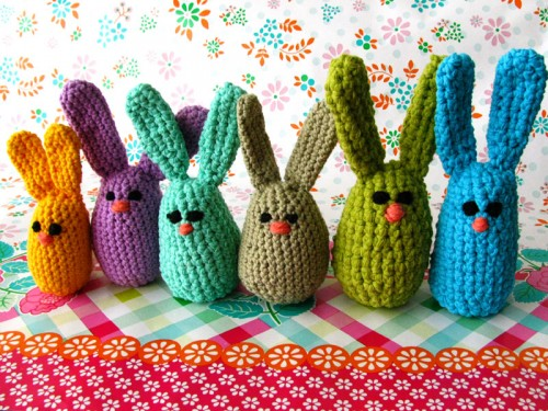 Easter Egg Bunnies Free Pattern