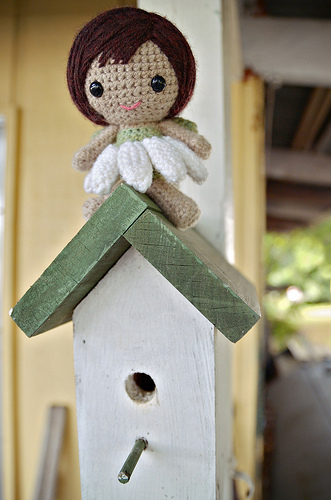 Who doesn t love Toadstools and Fairies Crochet Cricket