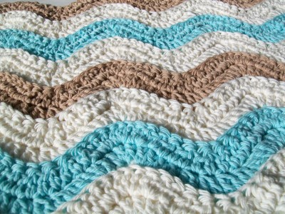 Crochet Ocean Waves Afghan Crochet Cricket