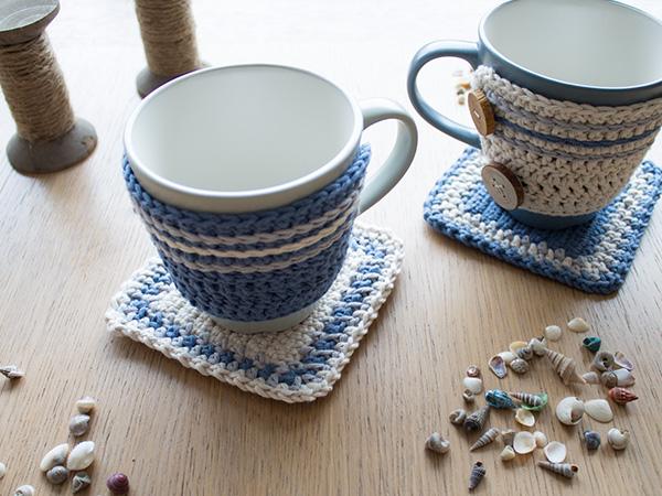 Free Crochet Pattern For Mug Rug : Free Pattern Find: Mug Hug & Rug! Crochet Cricket