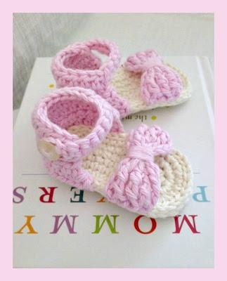 crochet-baby-sandal-free