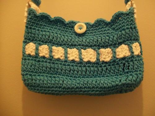 little lady handbag button closure free patter
