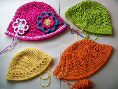 crochet hats wips