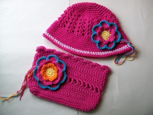 hat and bag set wip
