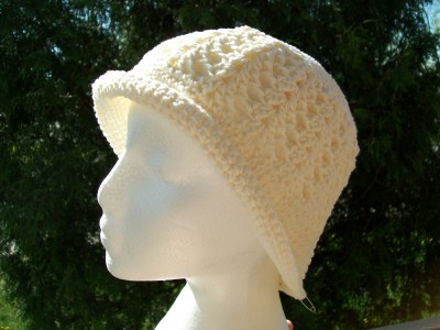 crochet cloche hat vintage inspired by crochet cricket