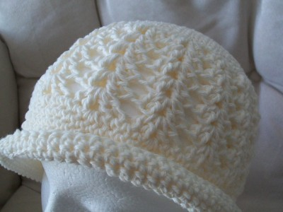 crochet cloche hat vintage inspired by crochet cricket