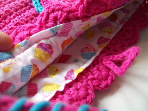 crochet bag Color Me Pretty Purse